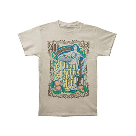 - Allman Brothers Men's  Angel T-shirt Cobblestone