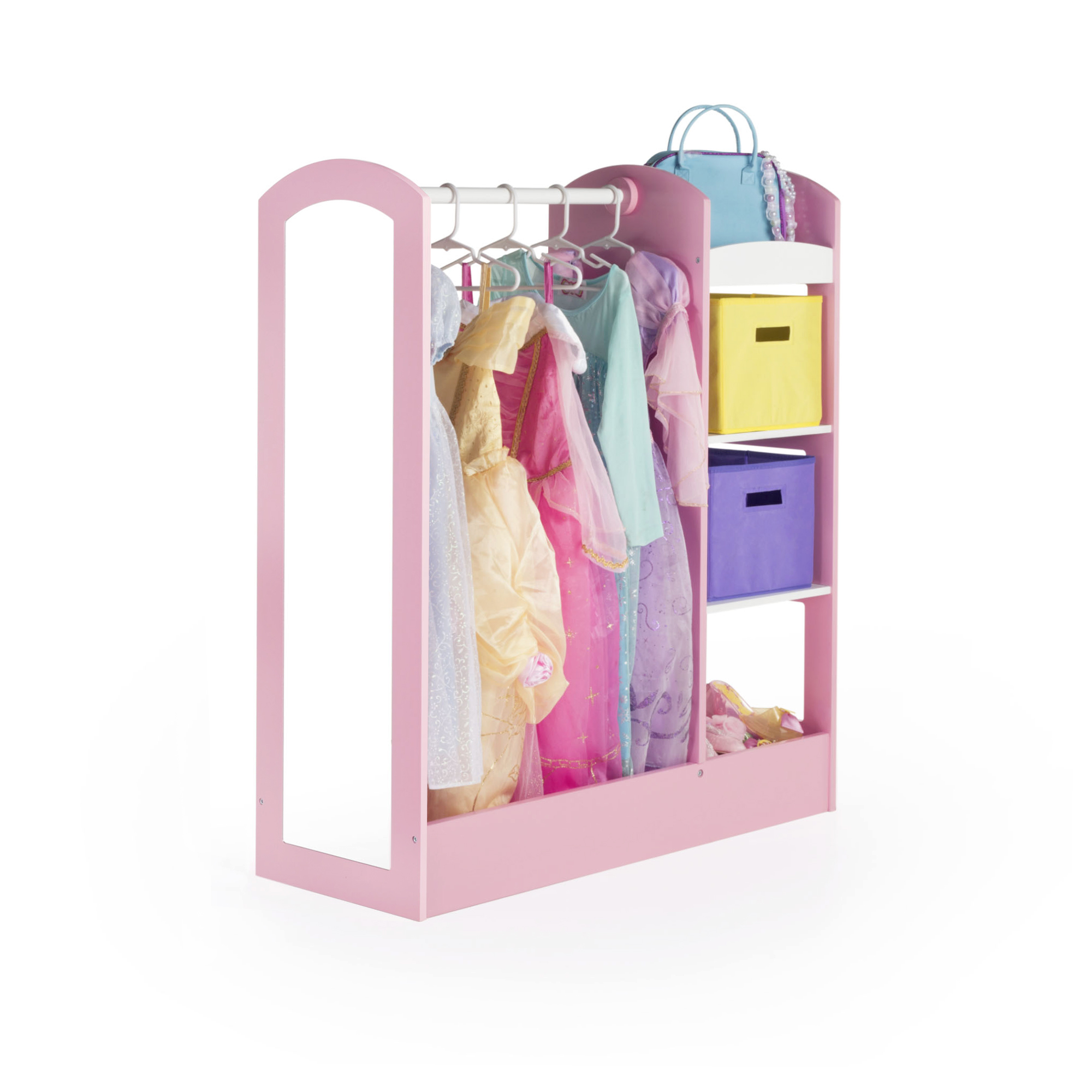 See and Store Dress-Up Center Pastel by Guidecraft