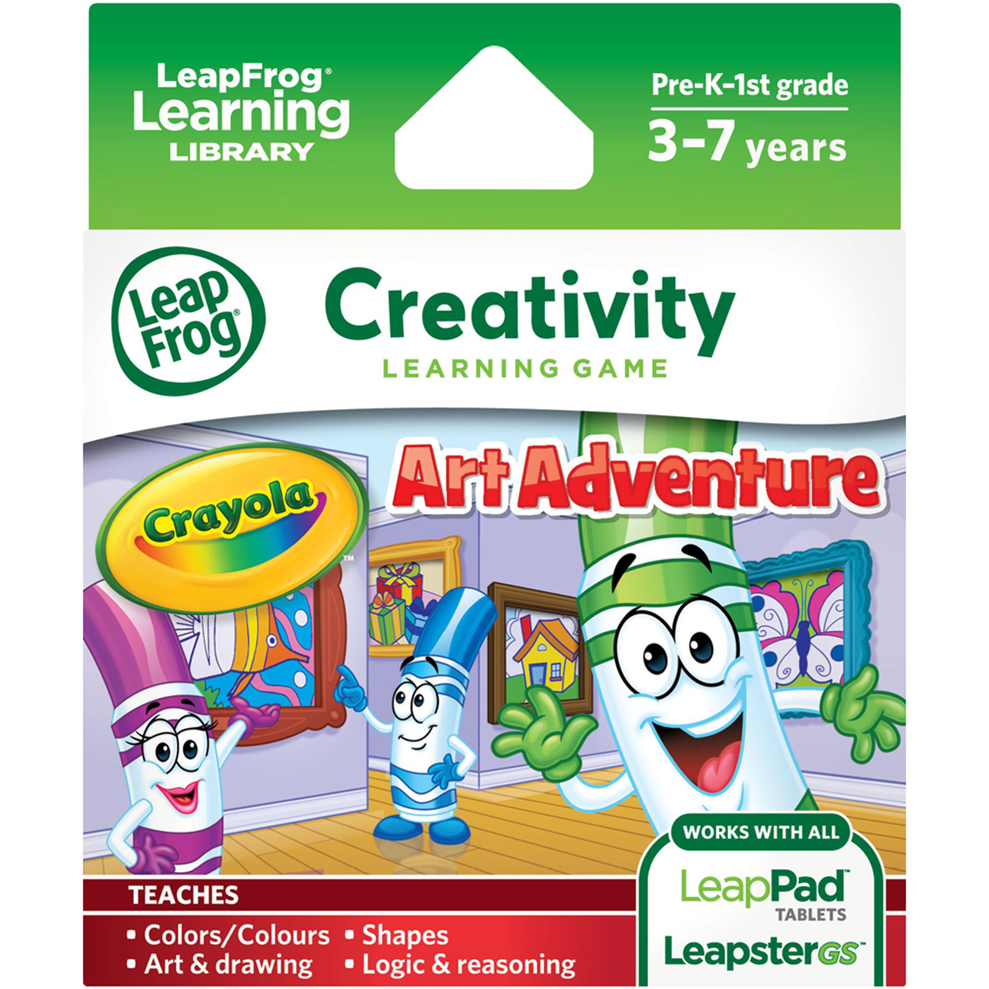 LeapFrog Explorer Learning Game, Crayola Art Adventure