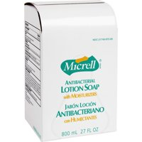 Micrell, GOJ975712EA, Antibacterial Lotion Dispenser Refill, 1 Each, Golden