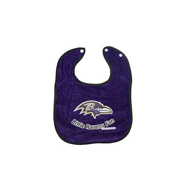NFL Baby Fan Bibs (Baltimore Ravens) # SP-1061 by
