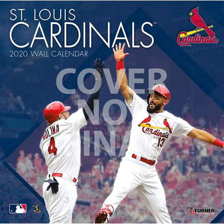 2020 St Louis Cardinals Calendar St Louis Cardinals: 2020 12x12 Team Wall Calendar (Other