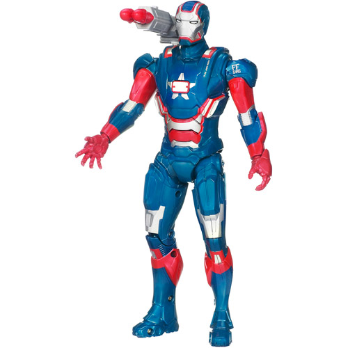 "Marvel ARC Strike Iron Patriot 10"" Action Figure"