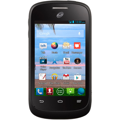 TracFone ZTE Valet Android Cell Phone with Triple Minutes for Life