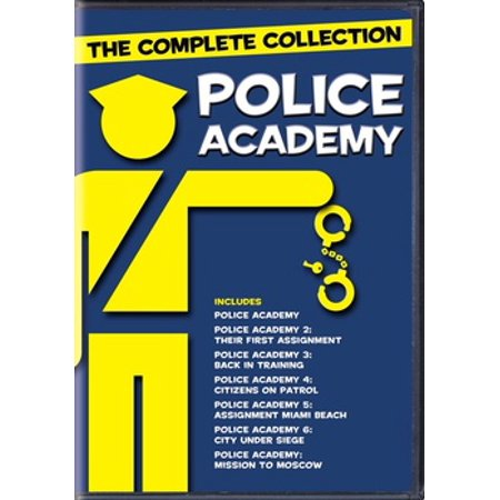 POLICE ACADEMY 7 FILM COLLECTION