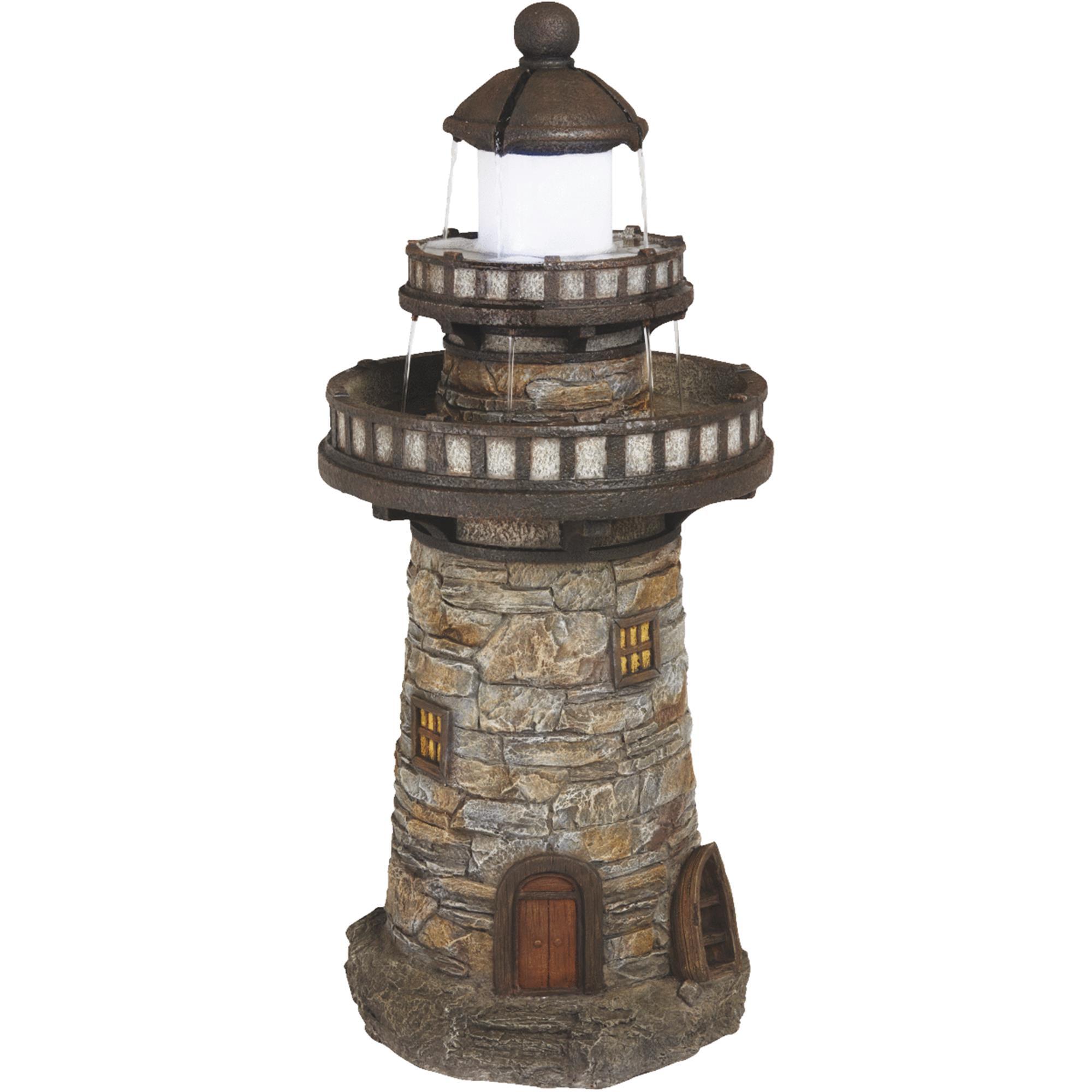 Best Garden Lighthouse Fountain by SIM Supply, Inc.