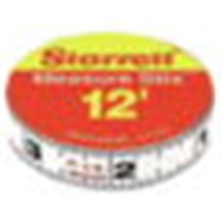 Measure Stix - Measure Stix Steel Measuring Tapes, 1/2 in x 12 ft, Inch