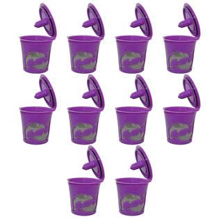 Keurig K-cups Keurig 2.0 Reusable Refillable K-cup Filter Pod for Keurig 2.0 and 1.0 Brewers, 10-Pack