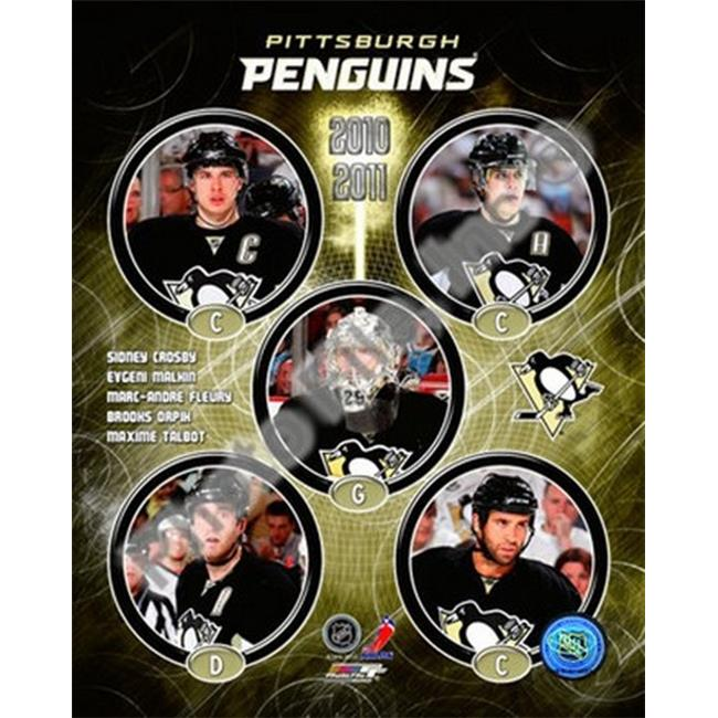 Photofile PFSAAMV24001 2010-11 Pittsburgh Penguins Team Composite Sports Photo - 8 x 10