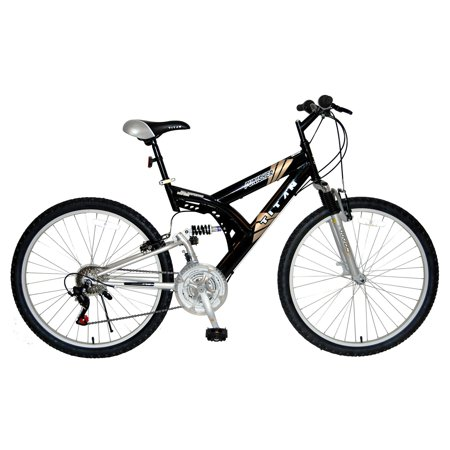 Titan Punisher Dual-Suspension Unisex All-Terrain Mountain Bike