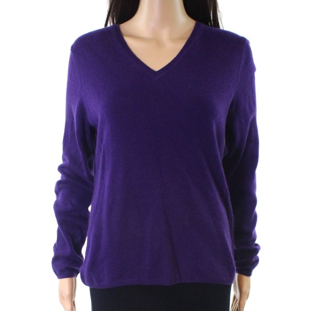 Shop WAYF Deep Purple Womens Size Small S Cable-Knit Cardigan Sweater - Free Shipping On Orders