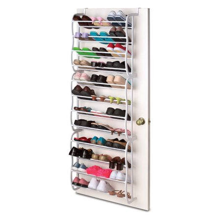 Sunbeam 'over The Door' 36-Pair Shoe Rack
