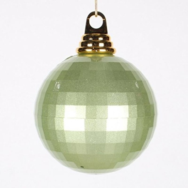 "Vickerman 4"" Celadon Mirror Ball Christmas Ornament - image 1 de 1"