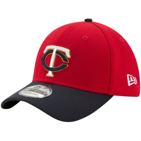online store 3dc46 fabc9 Minnesota Twins New Era Alternate 2 Team Classic 39THIRTY Flex Hat - Red  Navy - Walmart.com