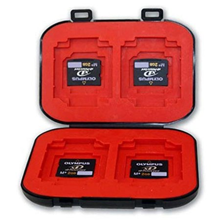 Position Memory (UFP Plus Memory Card Case Holder Four Position MSProDuo MicroSD )