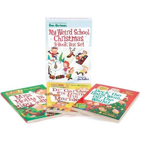 My Weird School Christmas Set : Miss Holly Is Too Jolly!, Dr. Carbles Is Losing His Marbles!, Deck the Halls, We're Off the