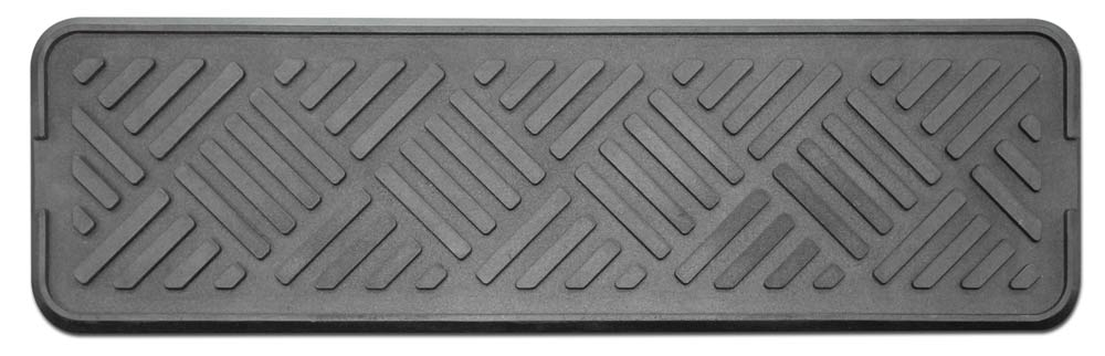 Set Of 3 Outdoor All Weather Rubber Stair Treads   9 In. X 30