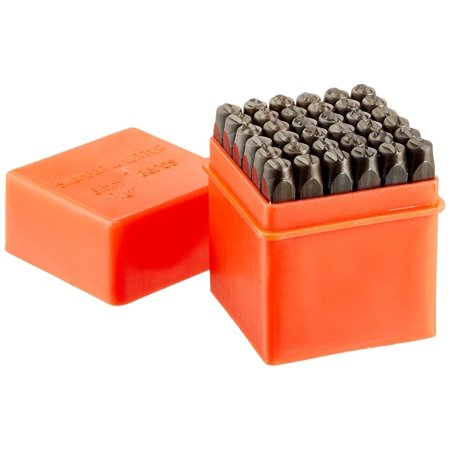 02624 Classic Numbers & Letters Punch Set   Hardened, Heat Treated Steel   36 Piece Set, Heavy duty design punches can make permanent imprints in.., By