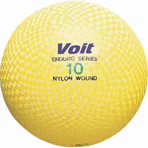 "Voit Enduro 10"" Playground Ball, Yellow"