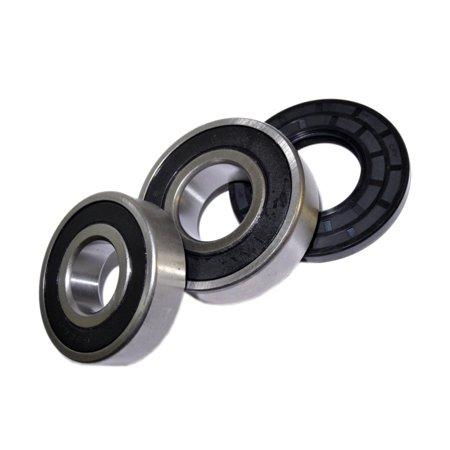HQRP Bearing and Seal Kit for Frigidaire FWT445GES2 FWT449GFS0 FWT449GFS1 FWT449GFS2 FWT645RHS0 FWT645RHS1 Front Load Washing Machine Washer Tub + HQRP