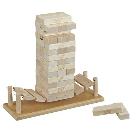 Jenga Bridge Wooden Block Stacking Tumbling Tower Game Now $5.77 (Was $14.97)