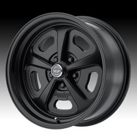 American Racing Vintage VN501 500 Mono Cast Satin Black 17x7 5x4.5 0mm (VN50177012700)