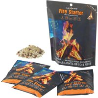 Stansport Food Supply Depot InstaFire Packets, 3 pack