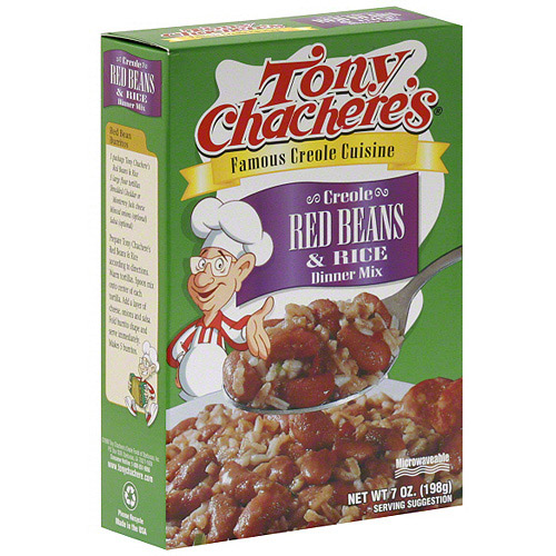 Tony Chachere's Creole Red Beans & Rice Dinner Mix, 7 oz (Pack of 12)