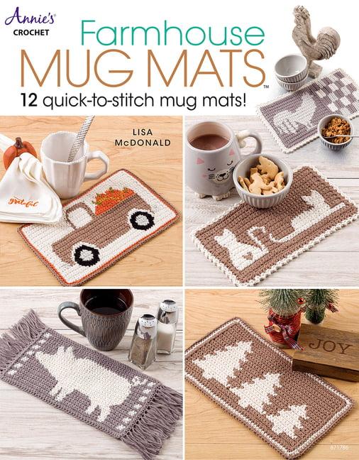 Mother/'s Day Gift Pot Holders Kitchen Decor Mug Rug Farmhouse Sheep Pot Holders