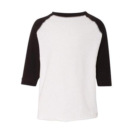6819773ce Rabbit Skins - Rabbit Skins T-Shirts Toddler Baseball Fine Jersey Tee -  Walmart.com