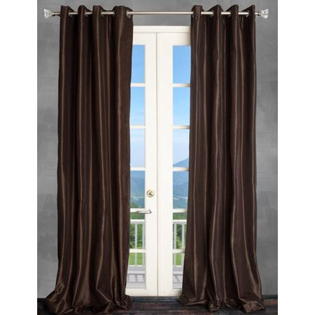 Parisian Themed Decor (Parisian Home Style Solid Semi-Sheer Thermal Grommet Single Curtain)