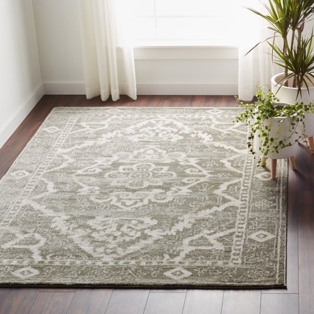 Catarina Traditional Medallion Area Rug or Runner Rug or Round Rug ()