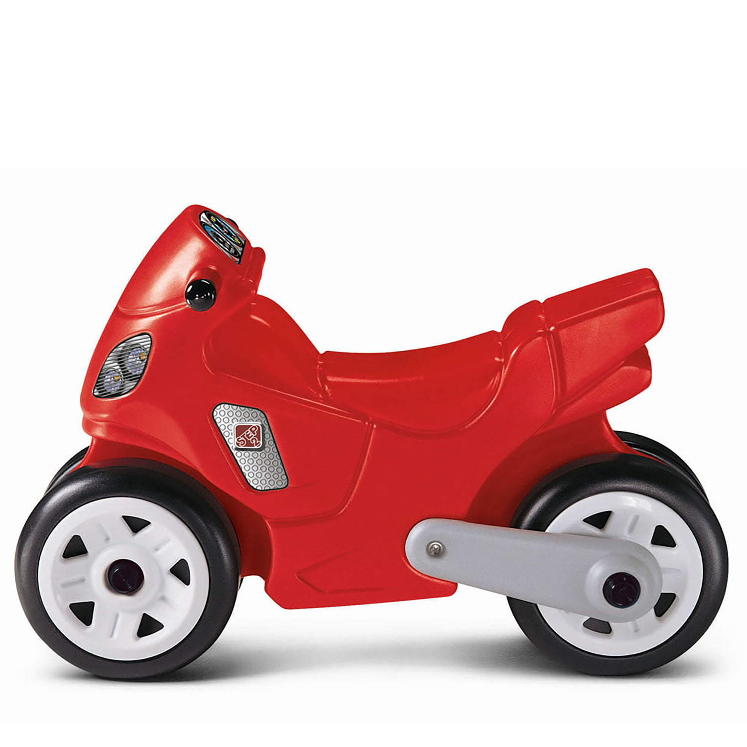 Red Kids Sturdy and Trendy Push Along and Ride On Balance Motorbike Preschool