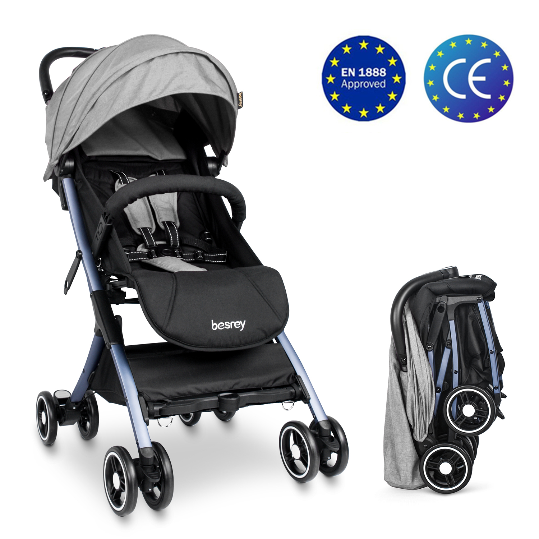 besrey Baby Stroller Lightweight Easy Fold Compact Travel ...