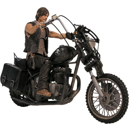 McFarlane Toys The Walking Dead TV Daryl Dixon Action Figure with Chopper