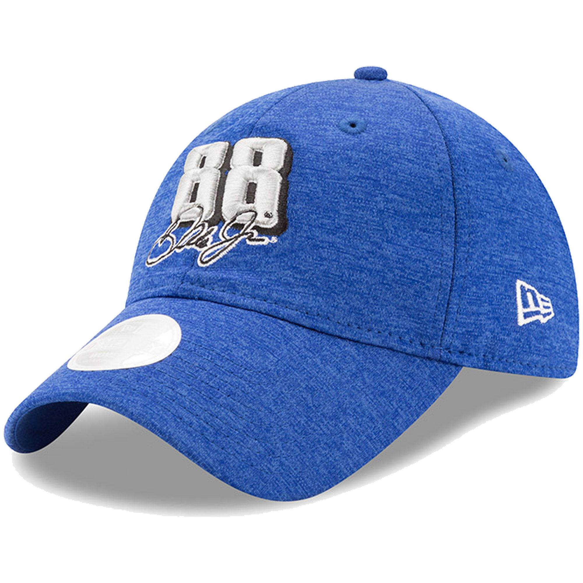 Dale Earnhardt Jr. New Era Women's Shadow Sleek 9TWENTY Adjustable Cap - Royal - OSFA