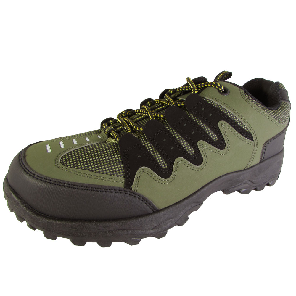 P&W New York Mens 7114 Casual Lace Up Hiking Oxford Shoes