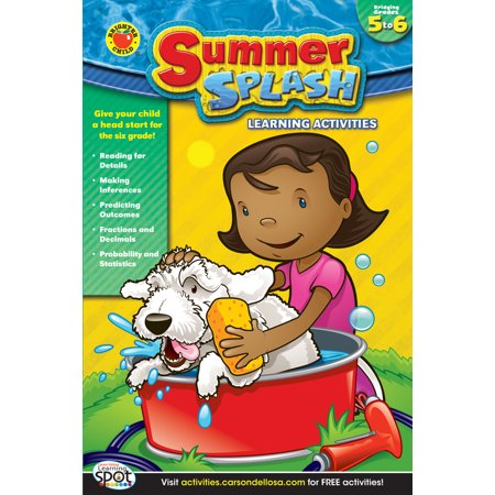Summer Splash Learning Activities, Grades 5 - 6](Summer Camp Activities For Kids)