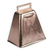 Darice Metallic Copper Cowbell with Clapper, 3 Inches