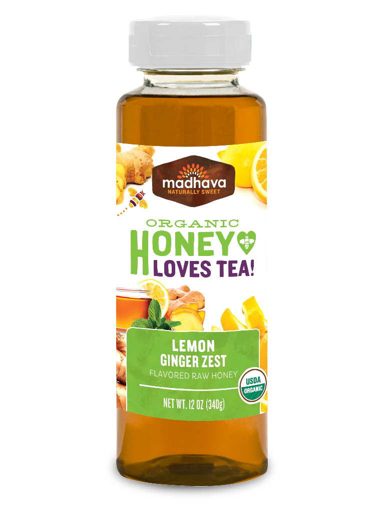 Madhava Organic Honey Lemon Ginger Zest by Madhava Natural Sweeteners