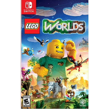 LEGO Worlds, Warner Bros, Nintendo Switch, 883929588763