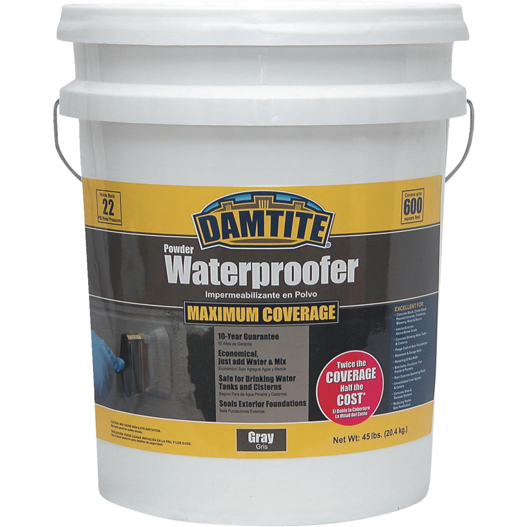 DAMTITE Powder Foundation & Masonry Waterproofer by Damtite Waterproofing