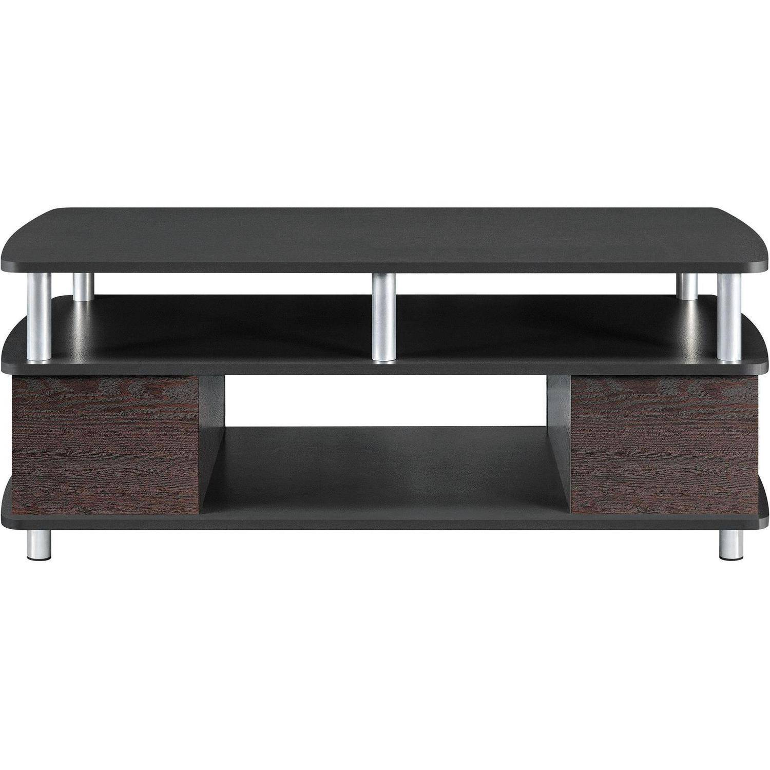 Black and wood coffee table - Black And Wood Coffee Table 55