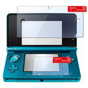 Insten 2 Pack Transparent Clear LCD Screen Protector Film For Nintendo 3DS (Set of 2 - Top and Bottom Cover)