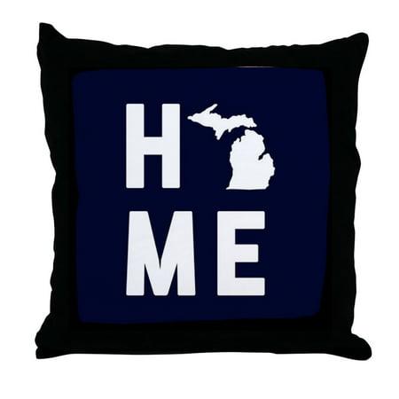 CafePress - Michigan Home - Decor Throw Pillow (18
