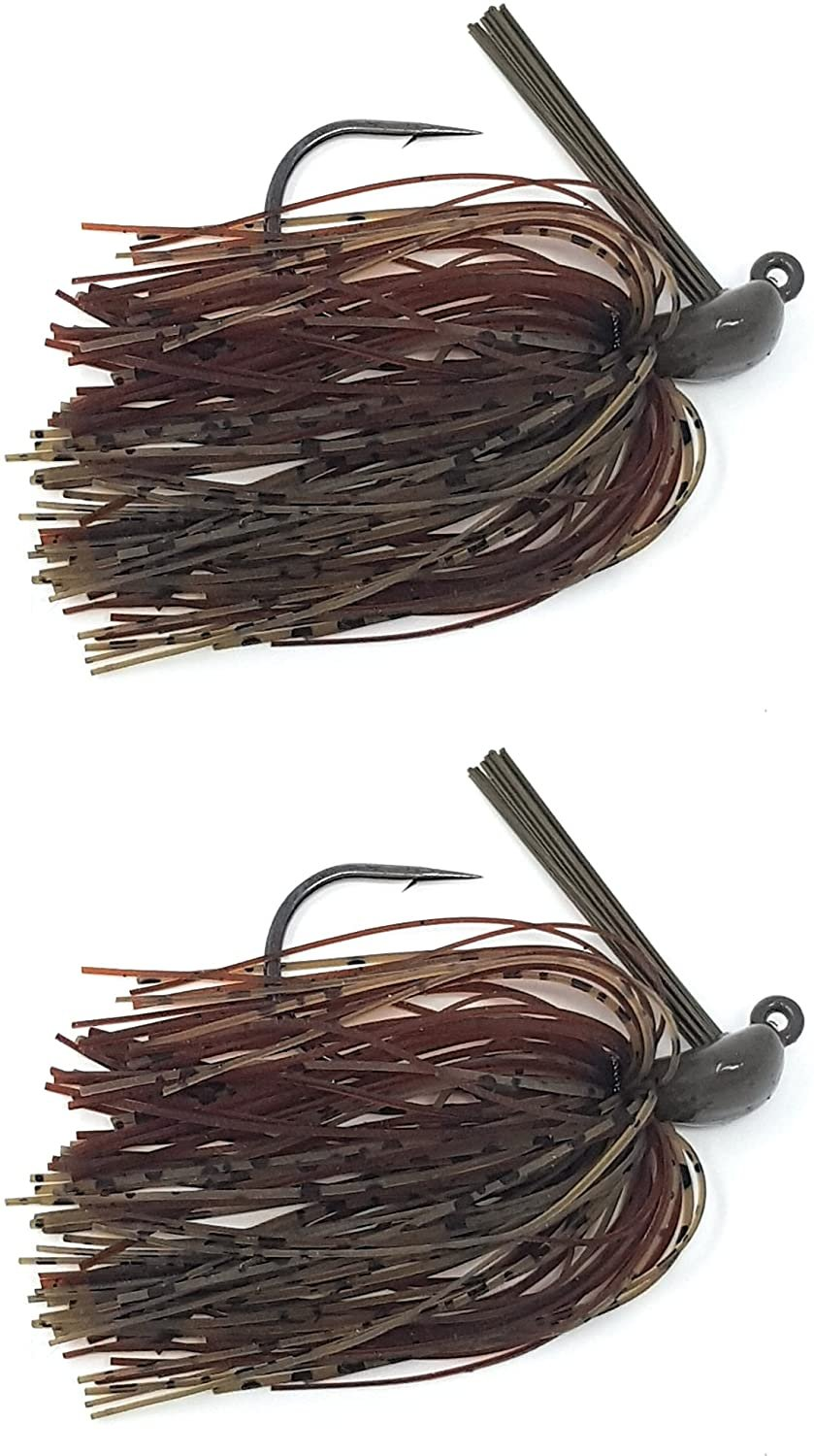 Reaction Tackle Tungsten Flipping Jigs 2-Pack