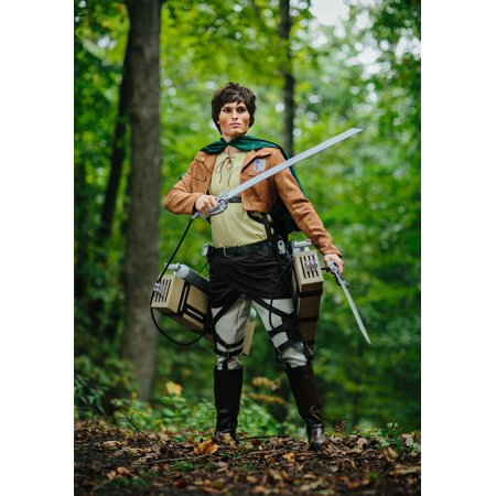 Deluxe Attack on Titan Eren Yaeger Costume](Attack On Titan Mikasa Costume)