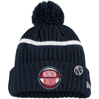 Washington Wizards New Era Youth 2019 NBA Draft Cuffed Knit Hat - Navy - OSFA