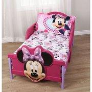 "Minnie Mouse Toddler Comfortable Bedding 2-piece Sheet Set - 52"" x 28"""