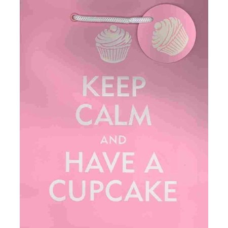 Keep Calm and Have a Cupcake Gift Bag ()